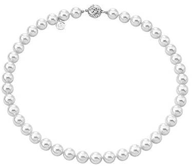 Majorica-Gargantilla-de-plata-con-Perlas-cultivadas-de-10-mm-de-diámetro