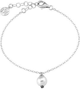 Majorica-Pulsera-cadena-Mujer-chapado-en-plata