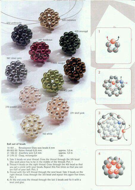 Manualidad-botones-con-perlas